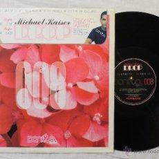 Discos de vinilo: MICHAEL KAISER DROP MAXI SINGLE VINYL 008 SPAIN. Lote 45934716