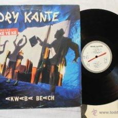 Discos de vinilo: MORY KANTE AKMABA BEACH LP VINYL SPAIN 1987. Lote 45934751