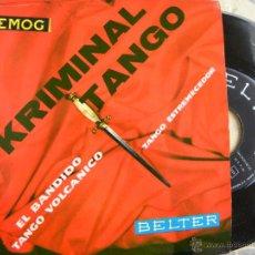 Discos de vinilo: GIANNI Y SU CONJUNTO -KRIMINAL TANGO -EP 1960. Lote 45946056