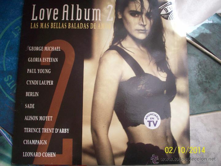 LOVE ALBUM 2 -.CANTAUTORES EXTRANJEROS- (Música - Discos - Singles Vinilo - Cantautores Extranjeros)