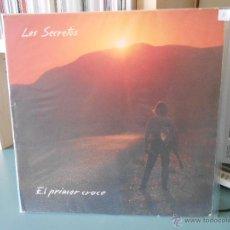 Discos de vinilo: LOS SECRETOS - EL PRIMER CRUCE. Lote 195428358