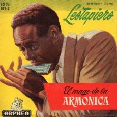 Discos de vinilo: SALVADOR LESTAPIERS - EL MAGO DE LA ARMONICA, EP, OKEY + 5, AÑO 1959. Lote 45956995
