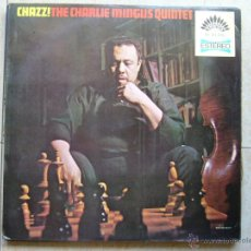 Discos de vinilo: CHAZZ ! THE CHARLIE MINGUS QUINTET. Lote 45961636