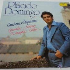 Discos de vinilo: PLACIDO DOMINGO-CANCIONES POPULARES-LP-DEUTSCHE GRAMMOPHON-2019 42... Lote 45964871
