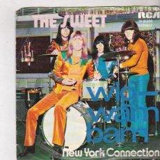 Discos de vinilo: THE SWEET. NEW YORK CONNECTION / WIG - WAM BAM. RCA 1972. Lote 45966987