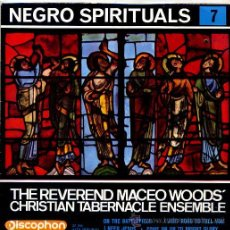 Discos de vinilo: THE REVEREND MACEO WOOD'S CHRISTIAN TABERNACLE ENSEMBLE / ON THE BATTLEFIELD + 3 (EP 1963). Lote 45967527