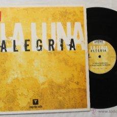 Discos de vinilo: LA LUNA ALEGRIA MAXI SINGLE VINILO VALE MUSIC SPAIN 2003. Lote 45971008