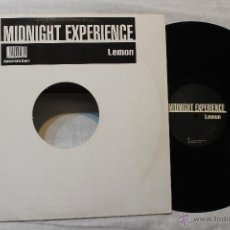 Discos de vinilo: MIDNIGHT EXPERIENCE LEMON MAXI SINGLE VINILO. Lote 45971042