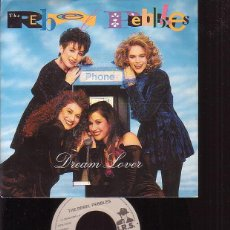 Discos de vinilo: THE REBEL PEBBLES, DREAM LOVER / PARTYTIME - SINGLE. Lote 45974828