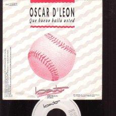 Discos de vinilo: DISCO OSCAR D´LEON - QUE BUENO BAILA USTED. Lote 45975038
