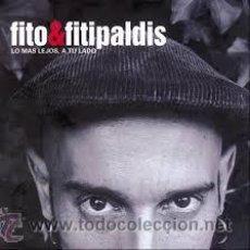 Disques de vinyle: FITO Y LOS FITIPALDIS - LO MAS LEJOS A TU LADO LP - EDICION VINILO + CD - WARNER / ROCK - A ESTRENAR. Lote 45976526