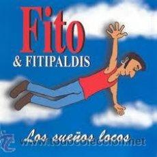 Discos de vinilo: FITO Y LOS FITIPALDIS - LOS SUEÑOS LOCOS LP - EDICION VINILO + CD - WARNER / ROCK - A ESTRENAR. Lote 45976535