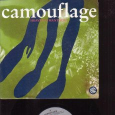 Discos de vinilo: CAMOUFLAGE, HEAVEN ( I WANT YOU) / WHO THE HELL IS DAVID BUTLER. Lote 45977107
