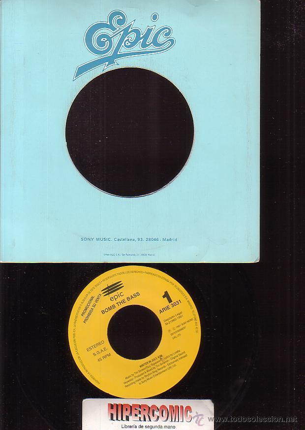 BOMB THE BASS, WINTER IN JULY (Música - Discos - Singles Vinilo - Grupos Españoles de los 90 a la actualidad)