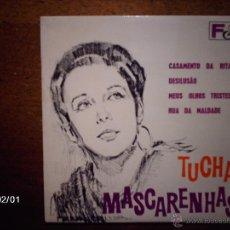 Discos de vinilo: TUCHA MASCARENHAS - CASAMENTO DA RITA + 3 - EDICIÓN PORTUGUESA . Lote 45978967
