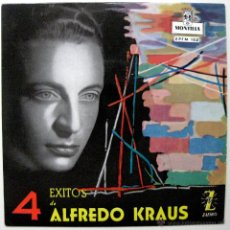 Discos de vinilo: ALFREDO KRAUS - 4 ÉXITOS DE ALFREDO KRAUS - EP MONTILLA / ZAFIRO 1959 BPY. Lote 45979731