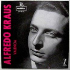 Discos de vinilo: ALFREDO KRAUS - VALENCIA - EP MONTILLA / ZAFIRO 1959 BPY. Lote 45979772