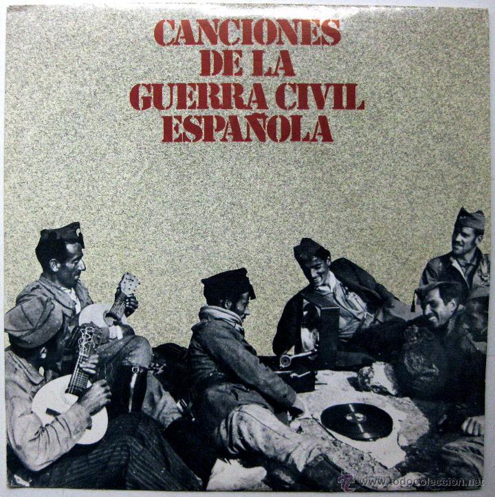 CANCIONES DE LA GUERRA CIVIL ESPAÑOLA (FALANGISTA SOY, AY CARMELA,...) - EP URBION 1978 BPY (Música - Discos de Vinilo - EPs - Flamenco, Canción española y Cuplé)