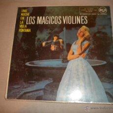 Discos de vinilo: LOS MAGICOS VIOLINES - UNA NOCHE EN LA VILLA FONTANA - LP - RCA. Lote 53053413