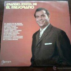Discos de vinilo: DISCO DE VINILO : GRANDES EXITOS DE EL MEJORANO. Lote 45987833