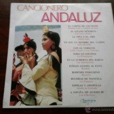 Discos de vinilo: DISCO DE VINILO : CANCIONERO ANDALUZ. Lote 45988027
