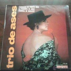 Discos de vinilo: DISCO DE VINILO : TRIO DE ASES. Lote 45988120