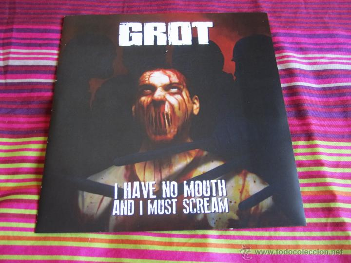 GROT - I HAVE NO MOUTH AND I MUST SCREAM 7'' EP NUEVO - DEATH METAL  GRINDCORE