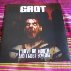 Discos de vinilo: GROT - I HAVE NO MOUTH AND I MUST SCREAM 7'' EP NUEVO - DEATH METAL GRINDCORE. Lote 45991586