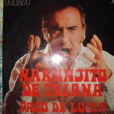 Discos de vinilo: NARANJITO DE TRIANA , A TRIANA , GUITARRA PACO DE LUCIA.. Lote 45992136