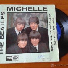 Discos de vinilo: THE BEATLES *ORIGINALES EDICION ESPAÑOLA AÑOS 60 EMI-ODEON. Lote 46009077