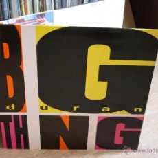 Discos de vinilo: DURAN DURAN, BIG THING, EMI RECORDS, 1988, MADE SPAIN, LP. Lote 46011708