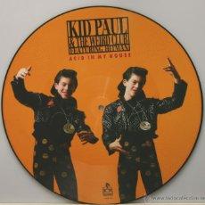Discos de vinilo: KID PAUL & THE WEIRD CLUB FEATURING HITMAN ACID IN MY HOUSE MAXI SINGLE PICTURE DISC 12 PULGADAS. Lote 46013661