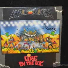 Discos de vinilo: HALLOWEEN - LIVE IN THE UK - LP. Lote 46024302