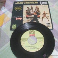 Discos de vinilo: JOHN TRAVOLTA - GREASED LIGHTIN'. Lote 49029644