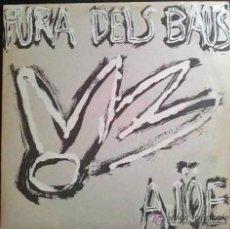 Discos de vinilo: FURA DELS BAUS, AJOE - AUTOGRAFIADO EN CONTRAPORTADA POR MIKI ESPUMA, MIEMBRO DE LA FURA - LP. Lote 26720261