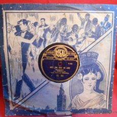Discos de vinilo: DISCO 78 RPM - ANGELILLO CON LA GUITARRA DE HABICHUELA - FLAMENCO - REGAL - DISCO DE PIZARRA. Lote 46027341