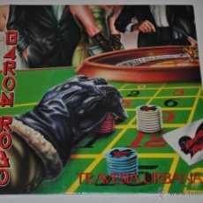 Discos de vinilo: BARON ROJO.TRAVESIA URBANA / EN TINIEBLAS.(CHAPADISCOS-ZAFIRO 1988).PROMOCIONAL.. Lote 46031255