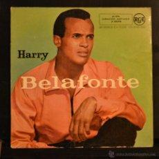 Discos de vinilo: HARRY BELAFONTE. DELIA / LA ZORRA / CANCION DE LA MAÑANA / EL TAMBORILERO Y EL COCINERO. EP. RCA . Lote 46032566