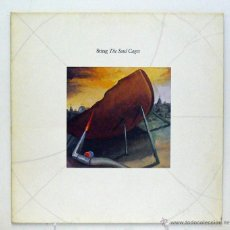 Discos de vinilo: STING - 'THE SOUL CAGES' (LP VINILO. ORIGINAL 1991. PAÍSES BAJOS). Lote 46035096