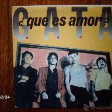 Discos de vinilo: G.A.T.A. ( 21 JAPONESAS ) - ¿ QUE ES AMOR ? + UN MILLÓN DE INTRIGAS . Lote 46048049