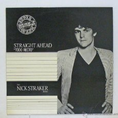Discos de vinilo: THE NICK STRAKER BAND - 'STRAIGHT AHEAD' (MAXI SINGLE VINILO) - PEDIDO MÍNIMO 8€. Lote 46054236