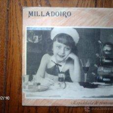 Discos de vinilo: MILLADOIRO - ESPADELADA DEPENOSIÑOS (SOLO UNA CARA ) . Lote 46056370