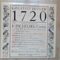 Discos de vinilo: GREATEST HITS OF 1720. Lote 46056725
