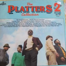 Disques de vinyle: LP - THE PLATTERS - THE COLLECTION (DOBLE DISCO, ENGLAND, PICKWICK RECORDS SIN FECHA). Lote 46061441