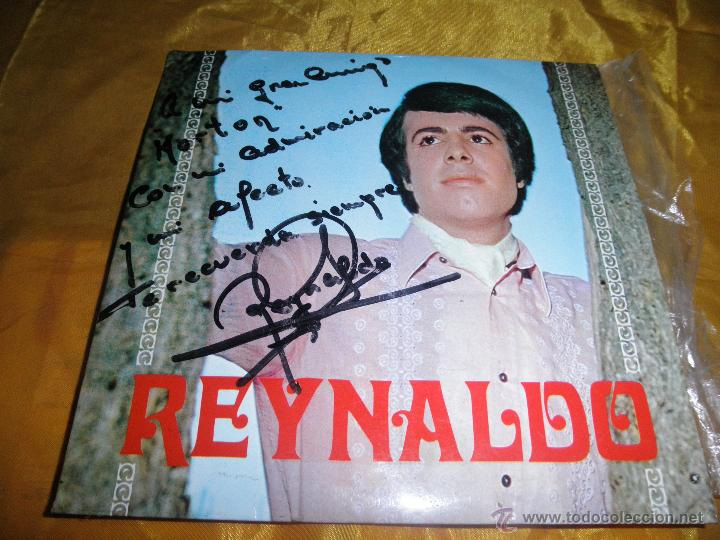 REYNALDO. VIVO / UN REY LOCO + 2 . EP. IBERIA 1968. DEDICADO POR EL CANTANTE (Música - Discos de Vinilo - EPs - Solistas Españoles de los 70 a la actualidad)