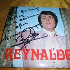 Discos de vinilo: REYNALDO. VIVO / UN REY LOCO + 2 . EP. IBERIA 1968. DEDICADO POR EL CANTANTE. Lote 46062576
