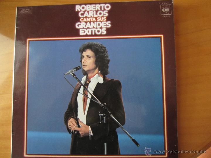ROBERTO CARLOS CANTA SUS MEJORES EXITOS- C.B.S.1978 (Música - Discos - LP Vinilo - Cantautores Extranjeros)