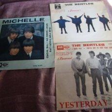 Discos de vinilo: LOTE 2 EPS THE BEATLES ORIGINALES 65,66-EN BUEN ESTADO. Lote 46069442