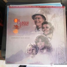 Discos de vinilo: EN EL ESTANQUE DORADO - ON GOLDEN POND- BANDA SONORA ORIGINAL [LP]. Lote 46024886