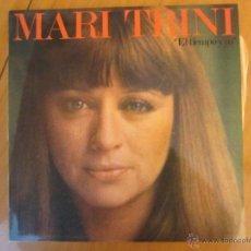 Discos de vinilo: MARI TRINI- EL TIEMPO Y YO. Lote 46069858